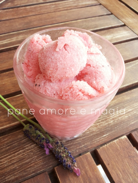 gelato fragola